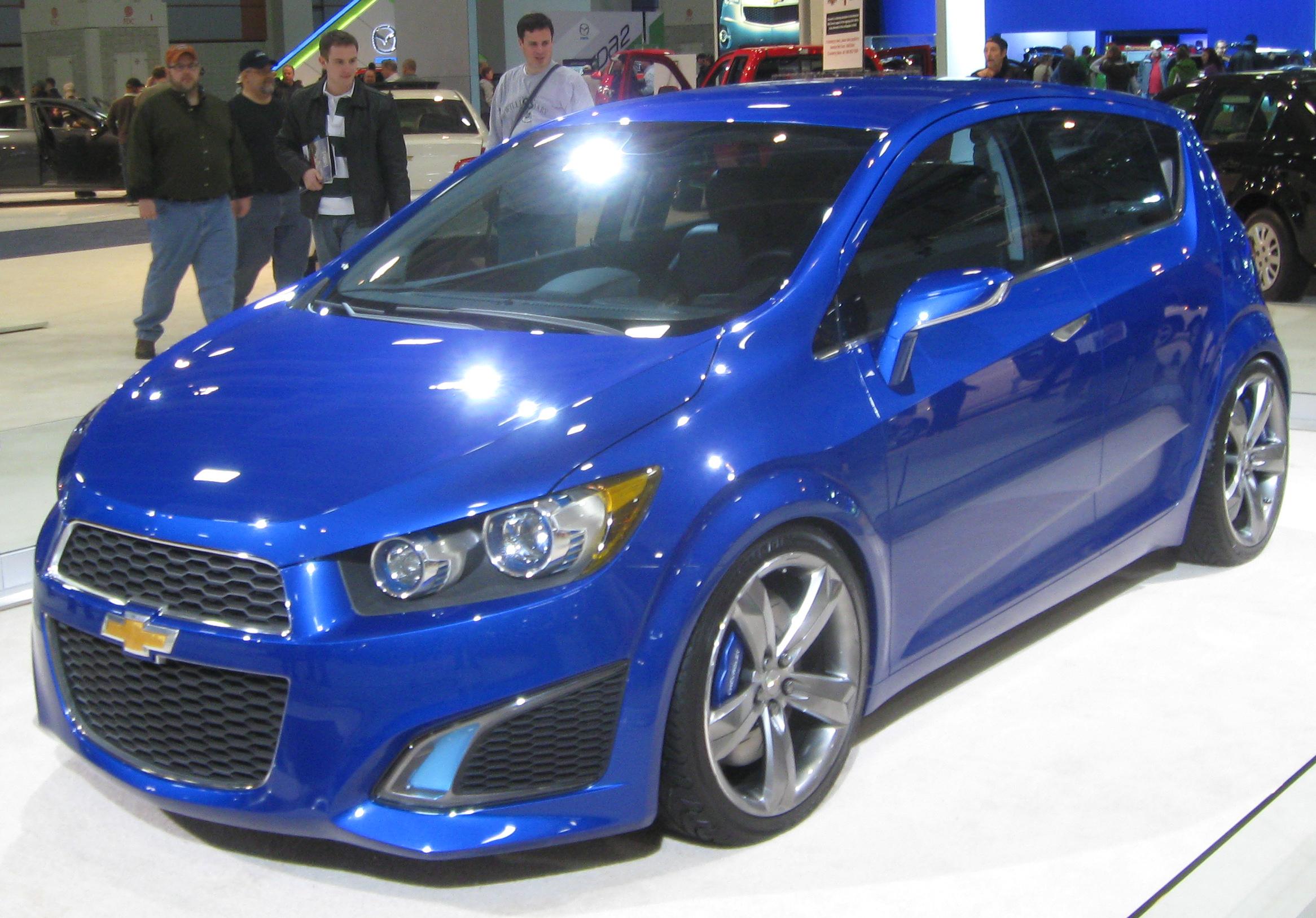 Chevrolet aveo rs photo 03