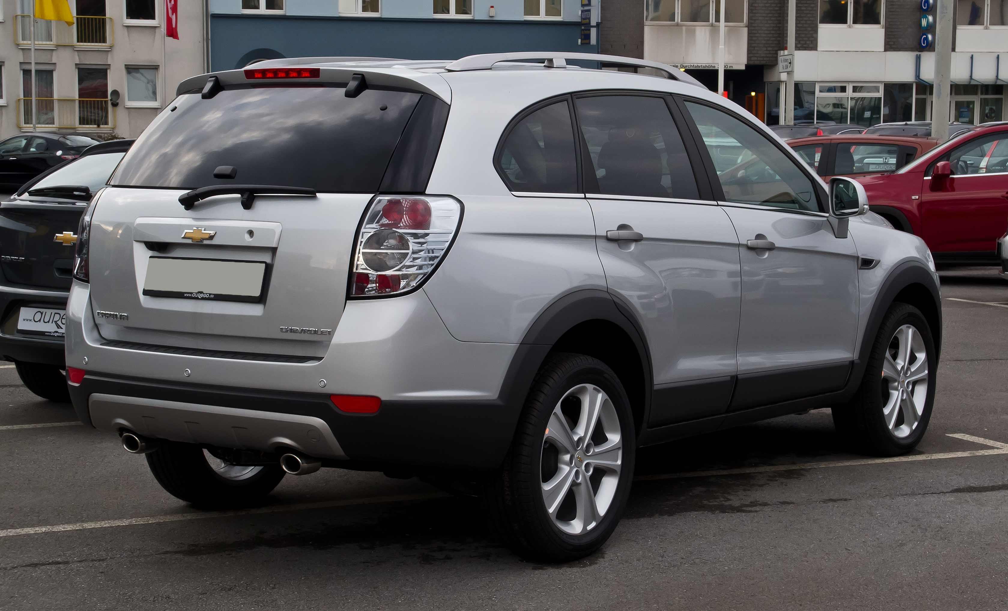 Chevrolet captiva photo 08