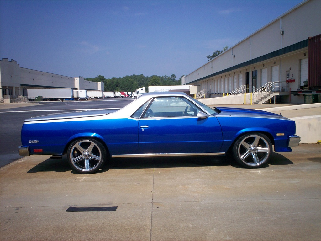 Chevrolet El Camino Technical Details History Photos On