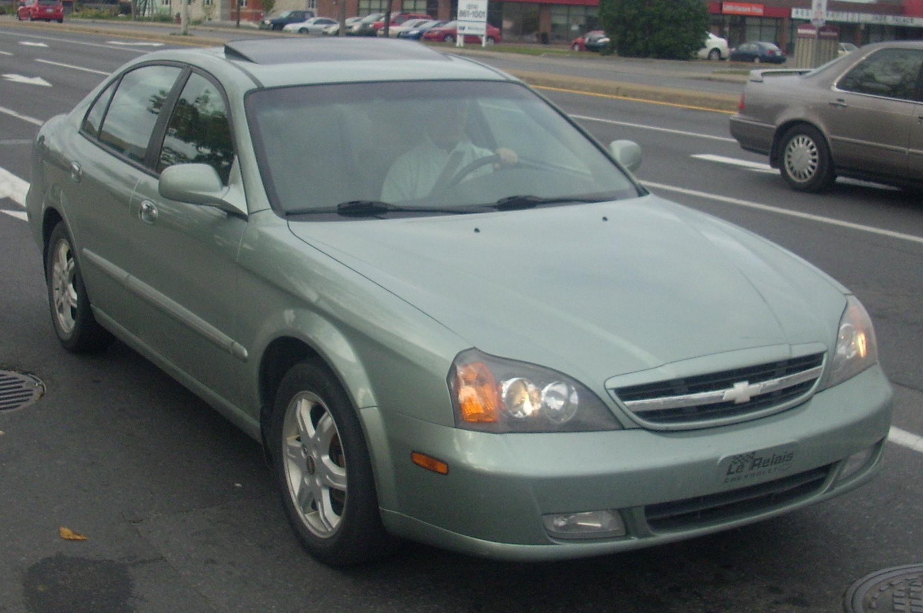 Chevrolet Epica photo 03