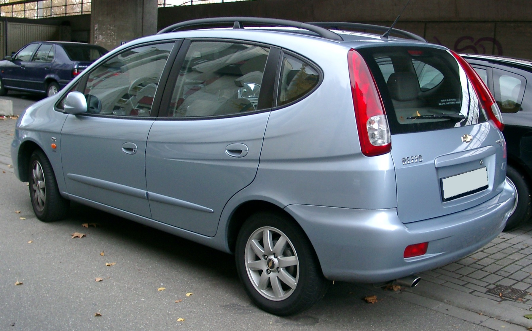 Chevrolet Rezzo photo 01