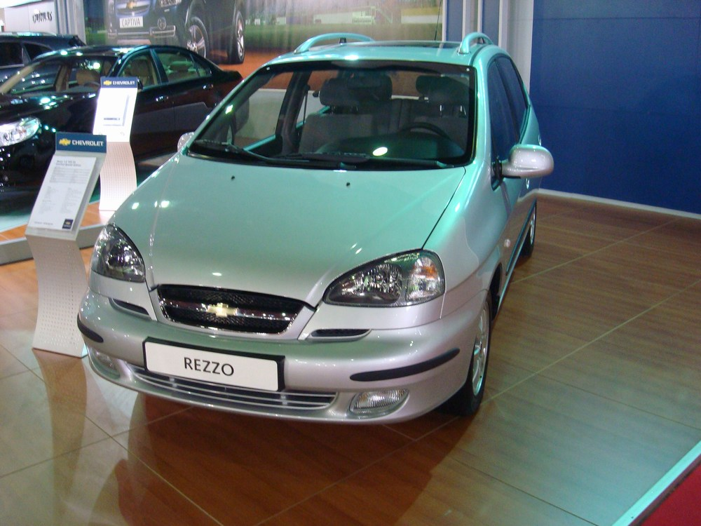 Chevrolet Rezzo photo 09