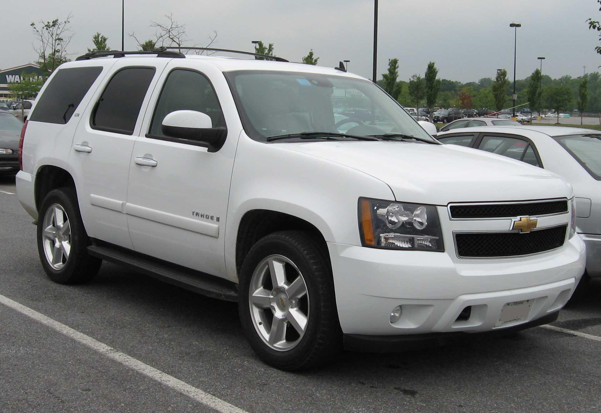 Chevrolet tahoe photo 02