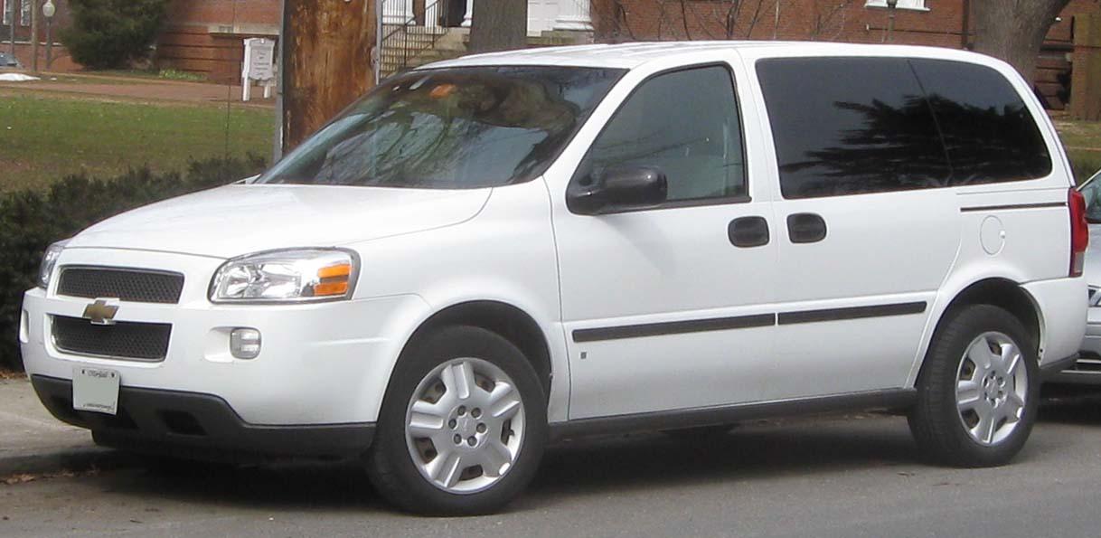 Chevrolet Uplander technical details history photos on Better