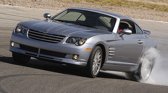 Chrysler Crossfire SRT6 technical details history photos on