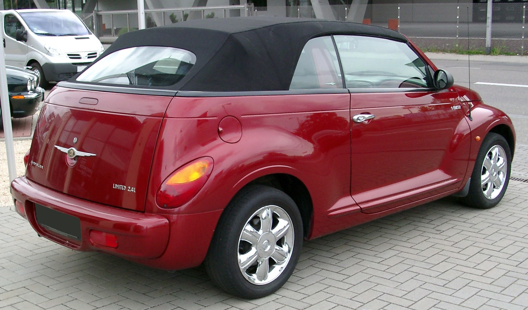 chrysler pt cruiser cabrio technical details history photos on better parts ltd. Black Bedroom Furniture Sets. Home Design Ideas