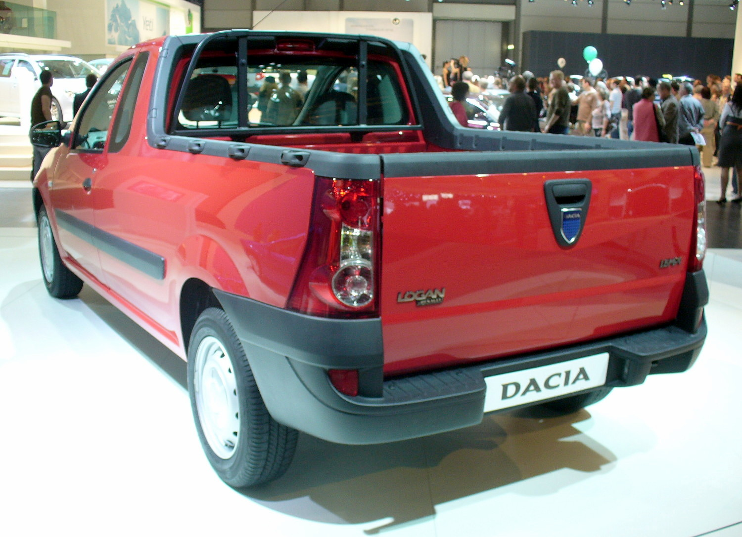 dacia logan pick up technical details history photos on better parts ltd. Black Bedroom Furniture Sets. Home Design Ideas