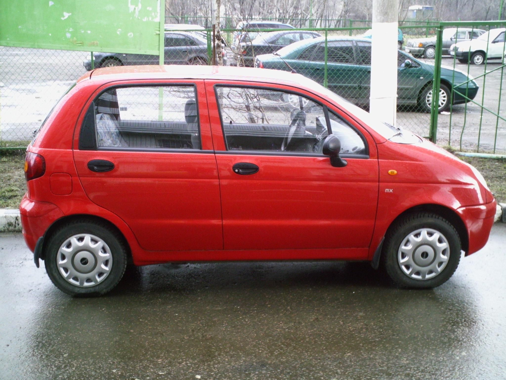 Daewoo Matiz photo 05