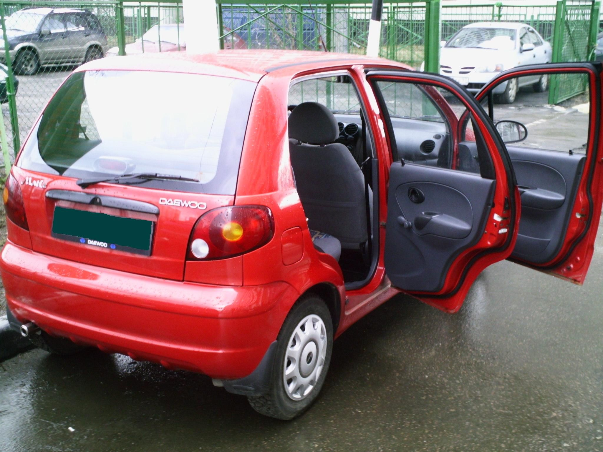 Daewoo Matiz photo 15