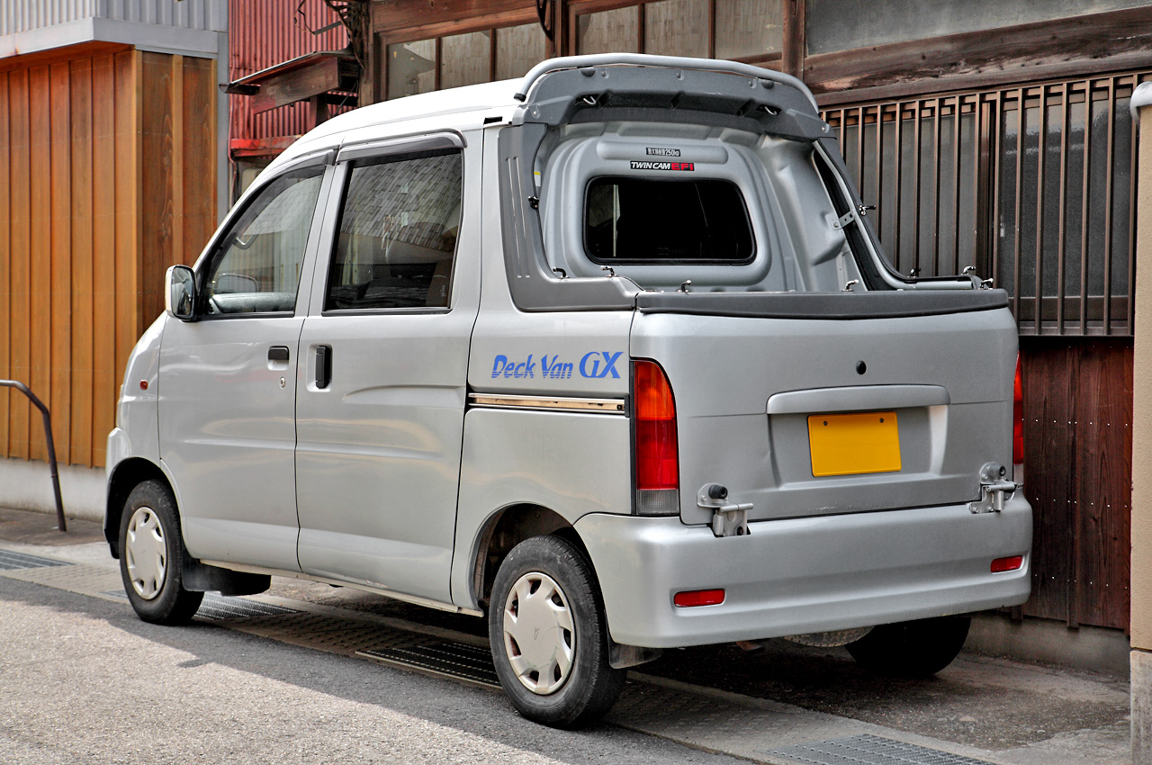 DAIHATSU Hijet History, Photos On Better Parts LTD