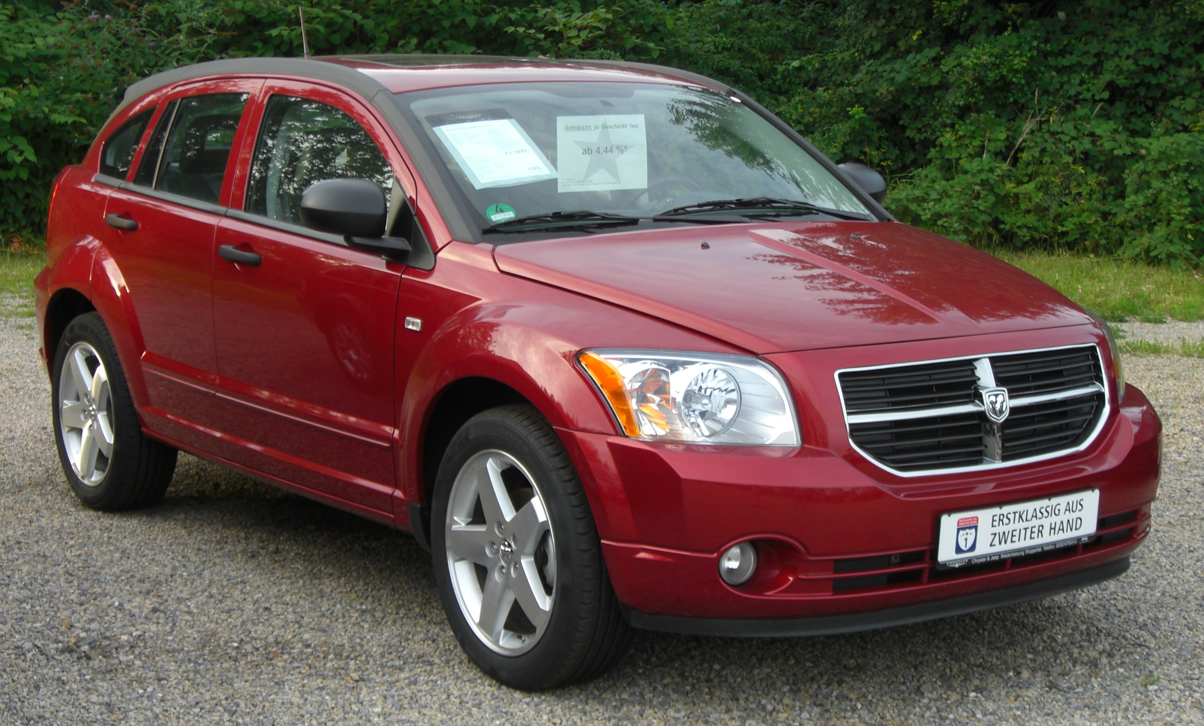 dodge caliber 2 0 crd technical details history photos. Black Bedroom Furniture Sets. Home Design Ideas