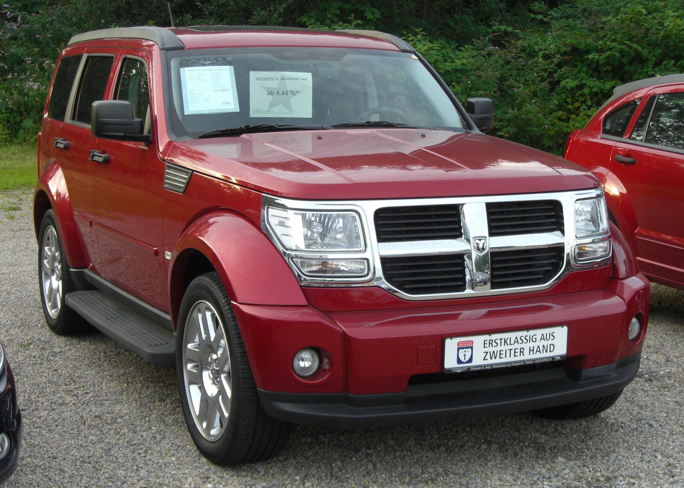 dodge nitro 2 8 crd technical details history photos on better parts ltd. Black Bedroom Furniture Sets. Home Design Ideas