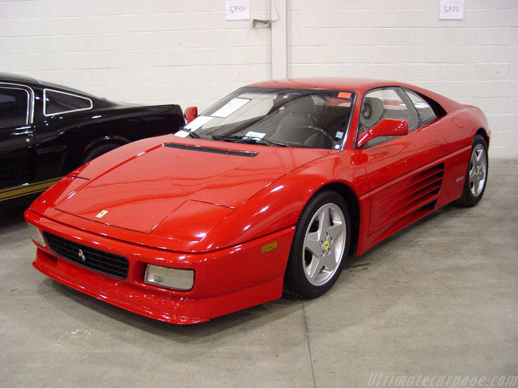 Ferrari 348 History Photos On Better Parts Ltd