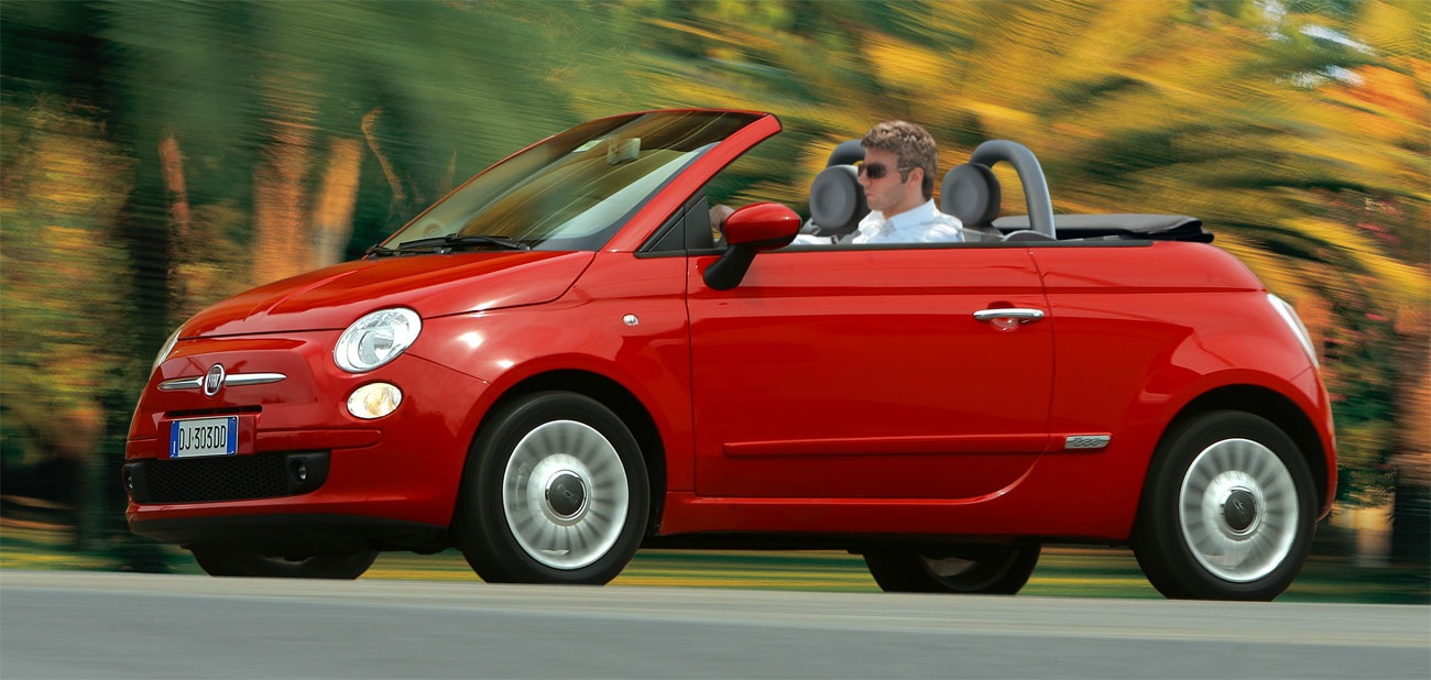 fiat 500 cabrio technical details history photos on. Black Bedroom Furniture Sets. Home Design Ideas