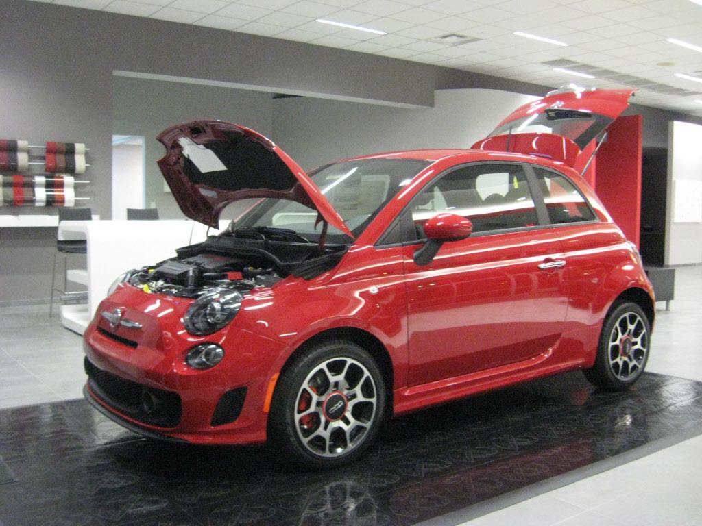 Fiat 500 Turbo technical details history photos on Better Parts LTD