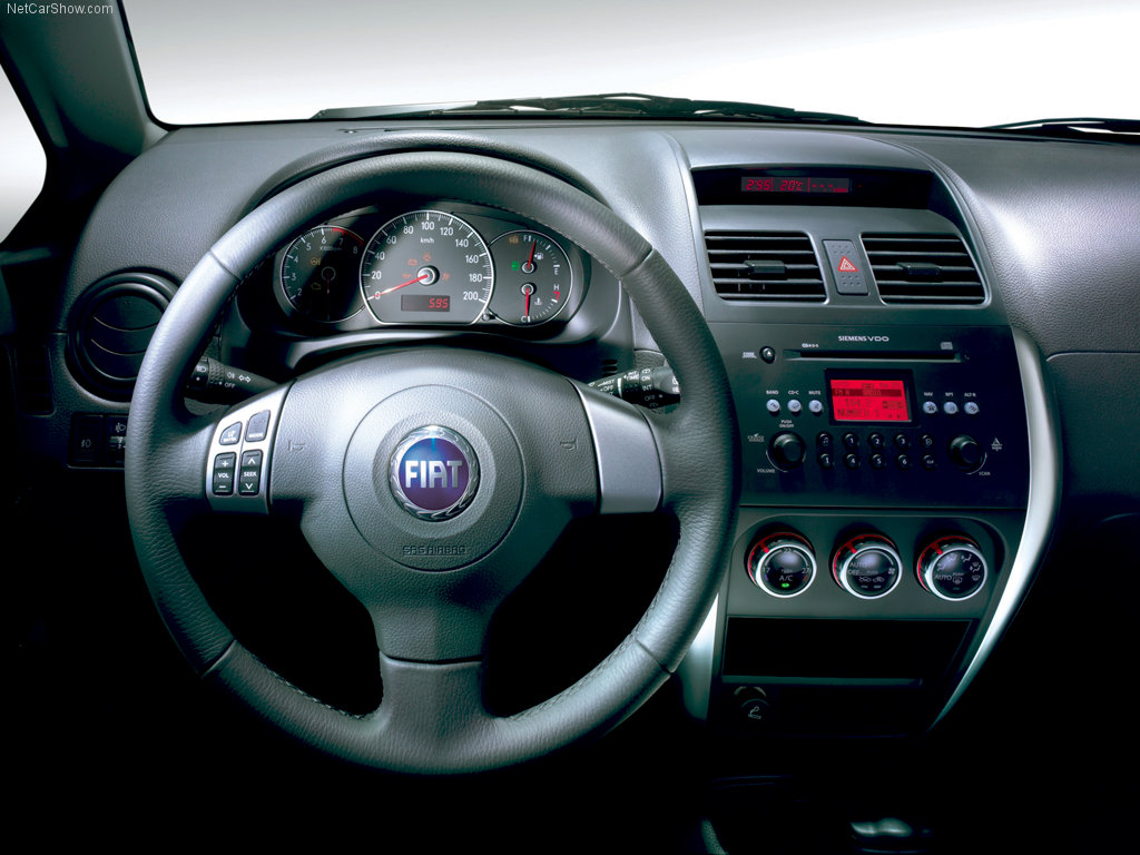 Fiat Sedici photo 05