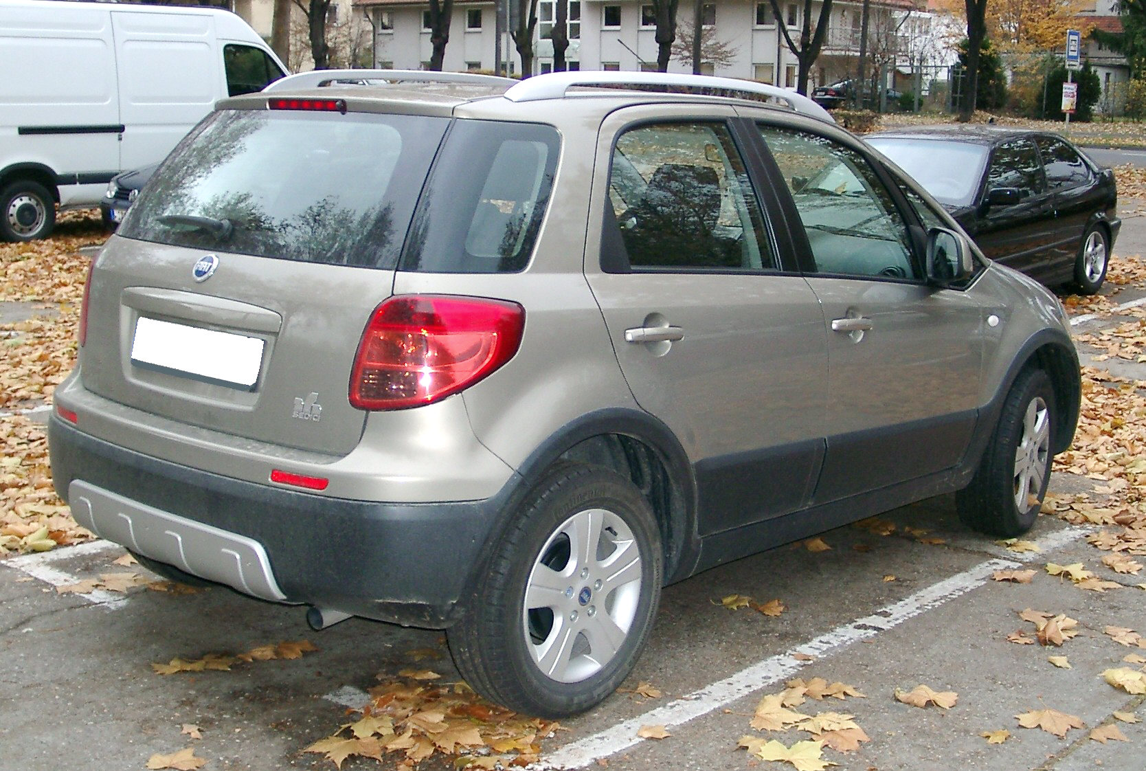 Fiat Sedici photo 09
