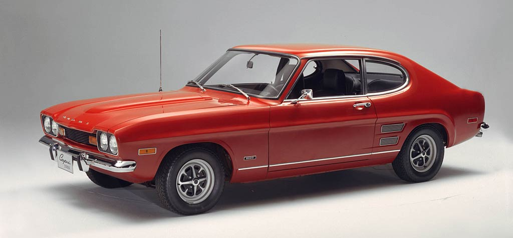 Ford Capri history, photos on Better Parts LTD