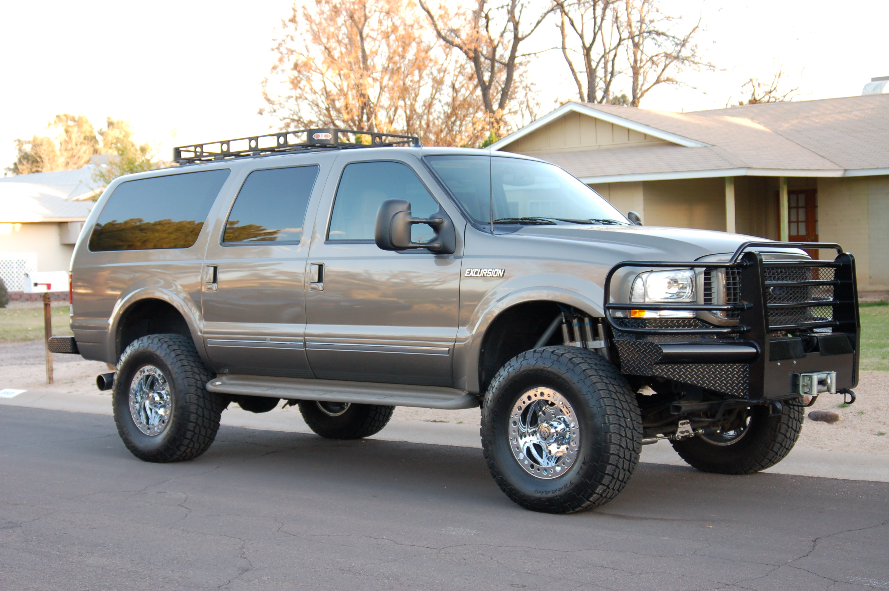 Ford Excursion Technical Details History Photos On