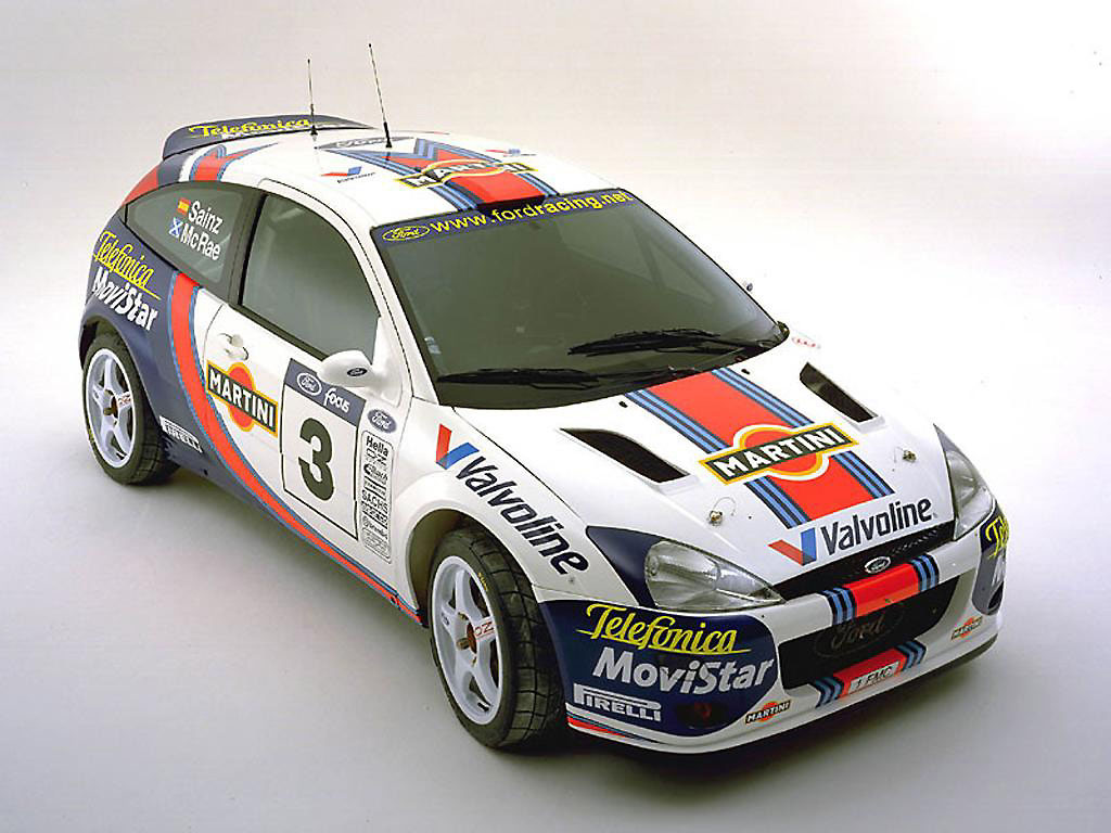 Famous Ford Rally Cars