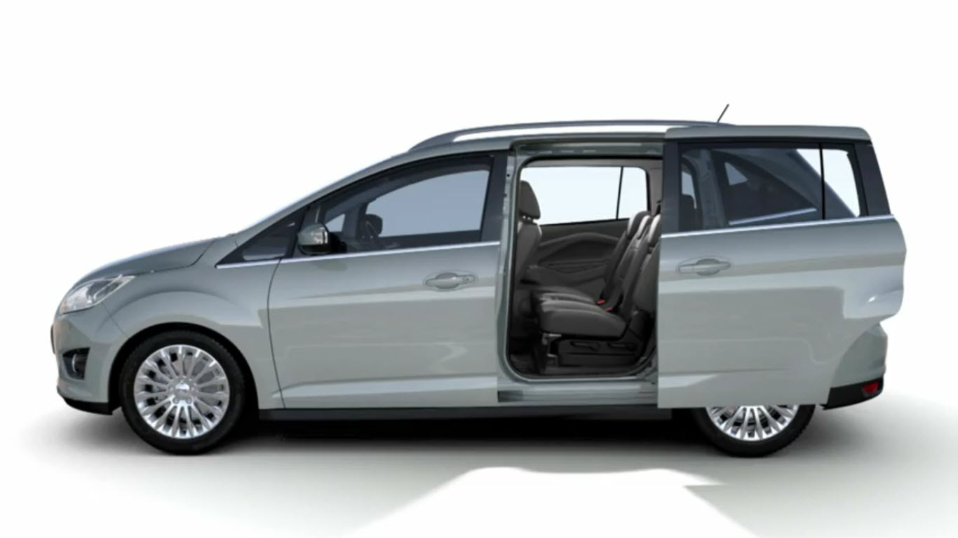 ford grand c max technical details history photos on better parts ltd. Black Bedroom Furniture Sets. Home Design Ideas