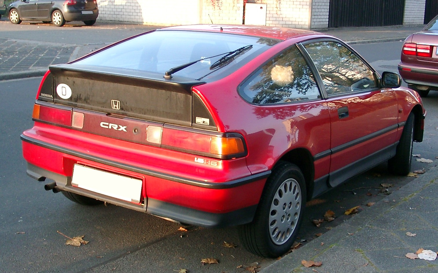 Honda Crx History Photos On Better Parts Ltd