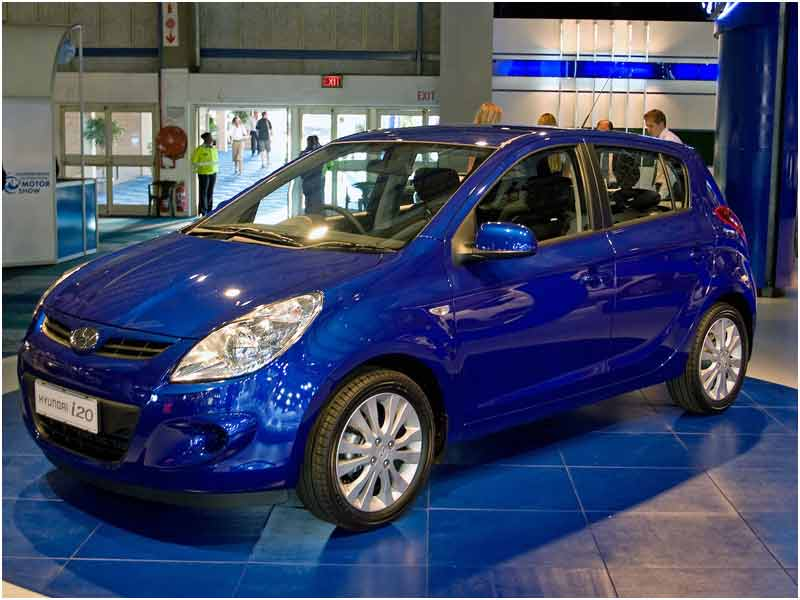 Hyundai I20 Blue Technical Details History Photos On