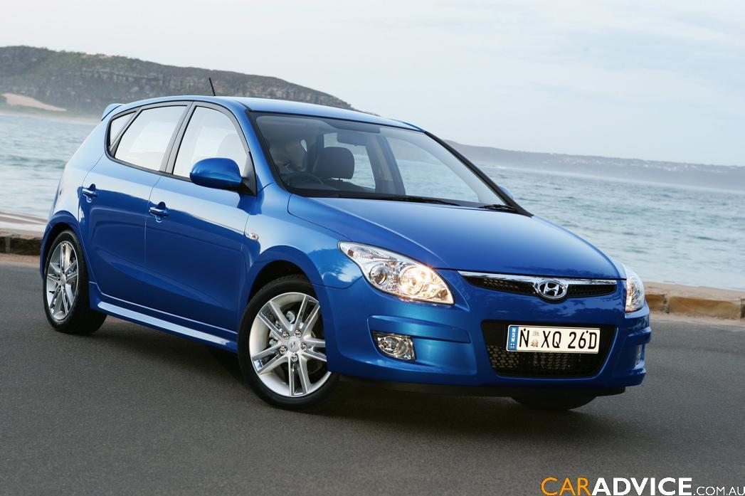 Hyundai I30 Blue Technical Details History Photos On