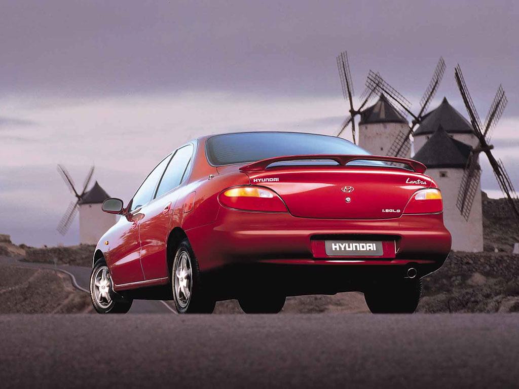Hyundai Lantra history, photos on Better Parts LTD