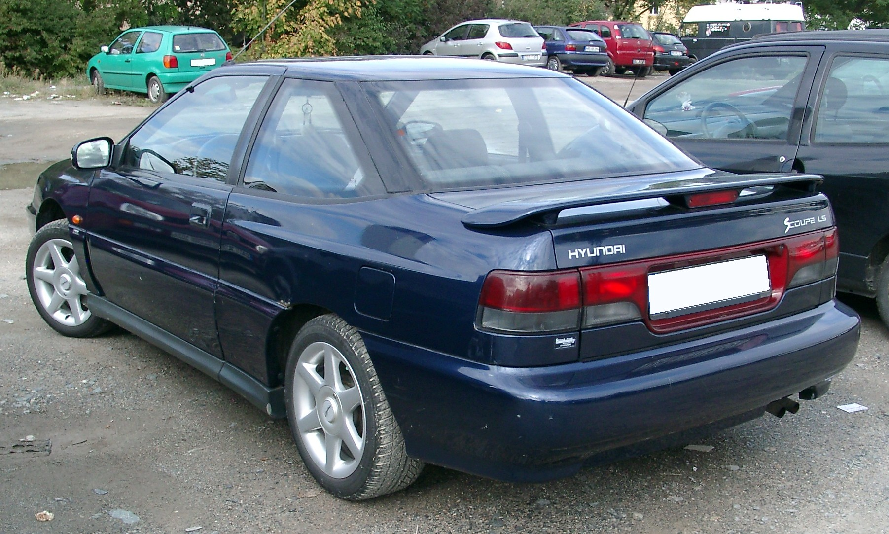 Hyundai S-Coupé photo 02