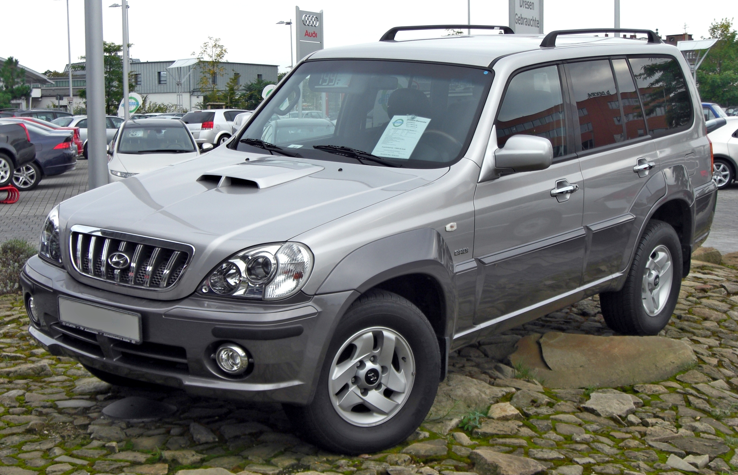 Hyundai Terracan Technical Details History Photos On