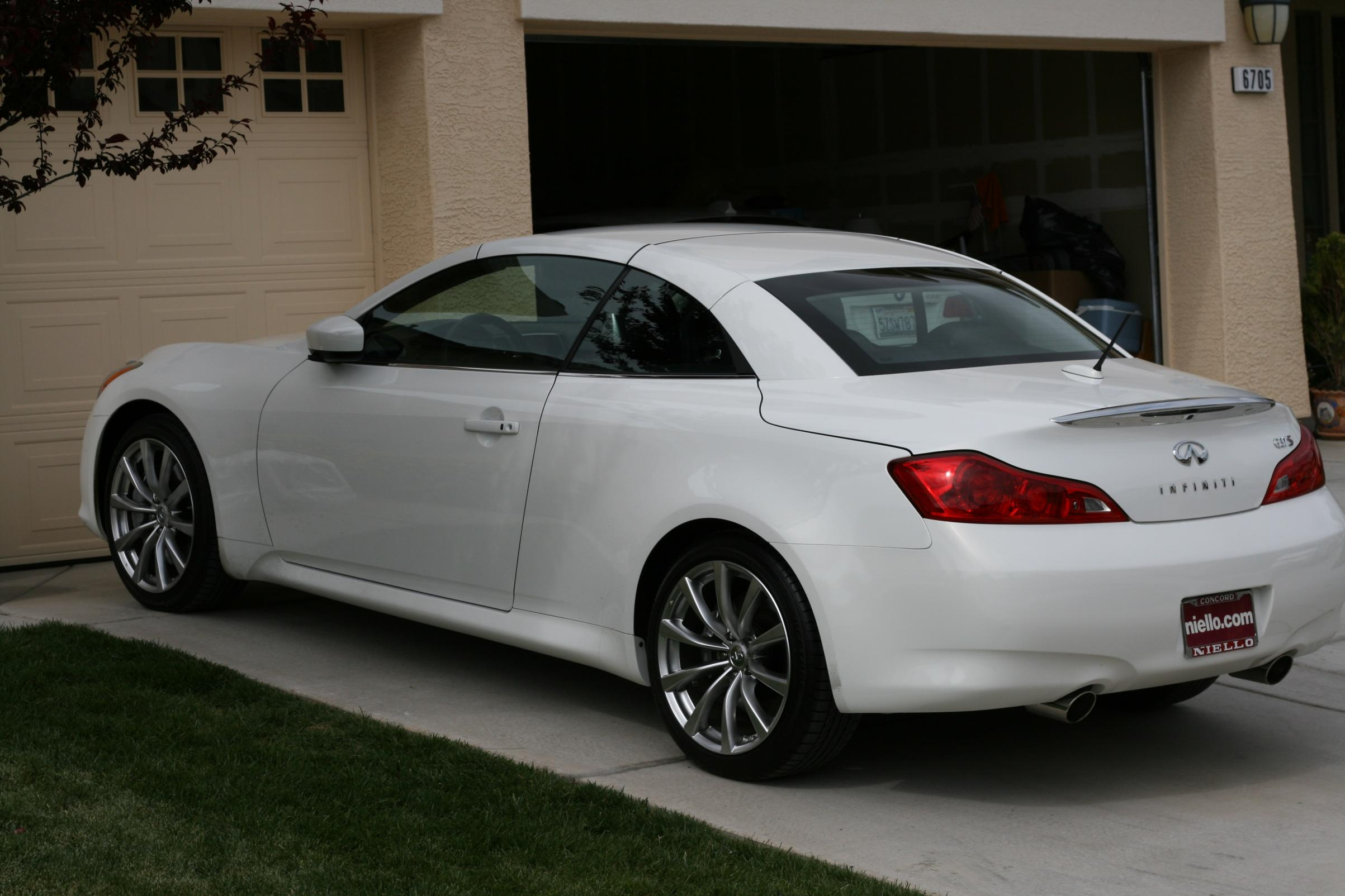 infiniti g37 cabrio photos 14 on better parts ltd. Black Bedroom Furniture Sets. Home Design Ideas