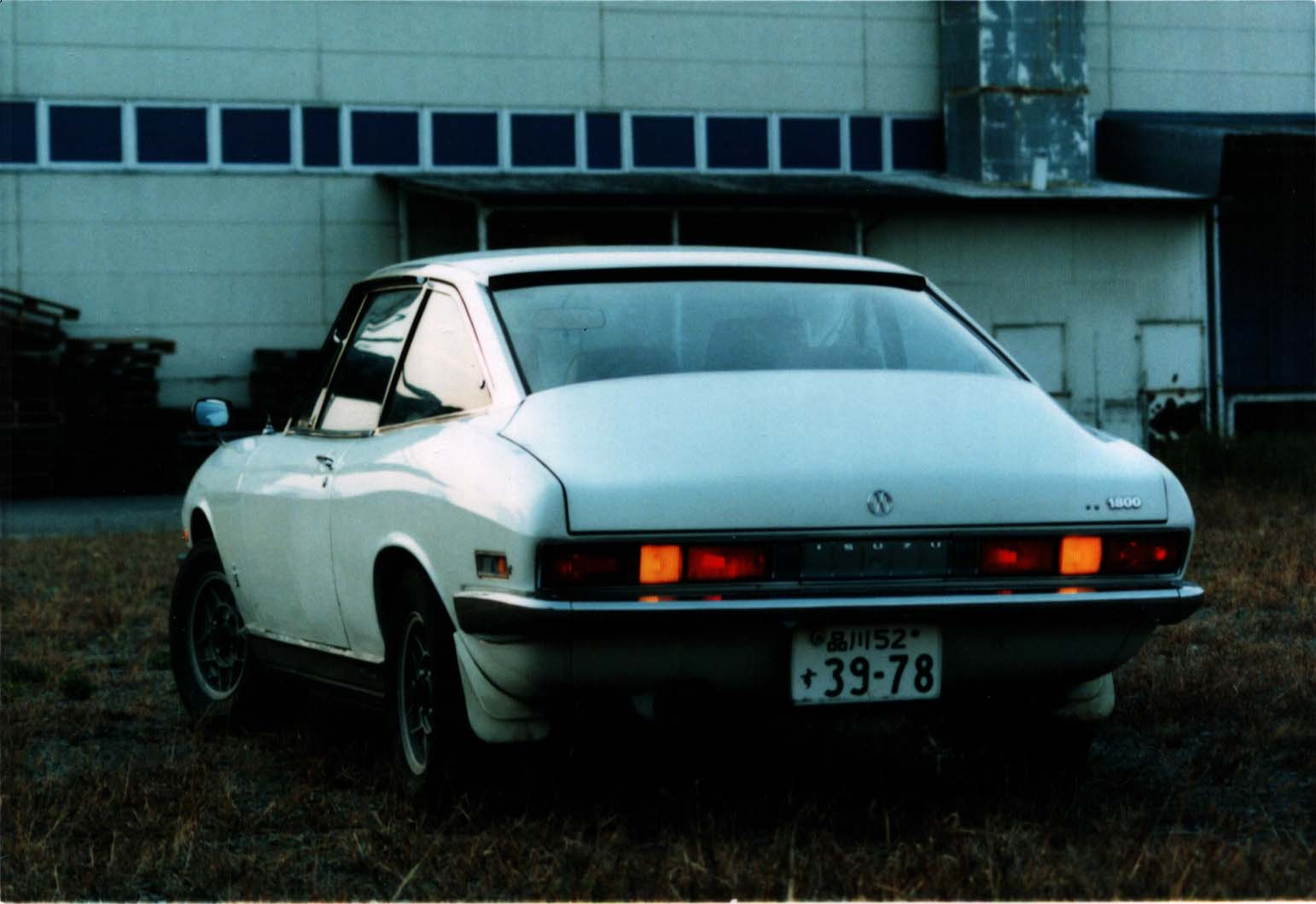 Isuzu 117 Coupé photo 06