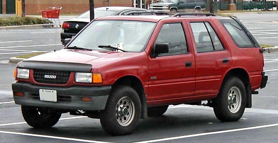 Isuzu Rodeo photo 01