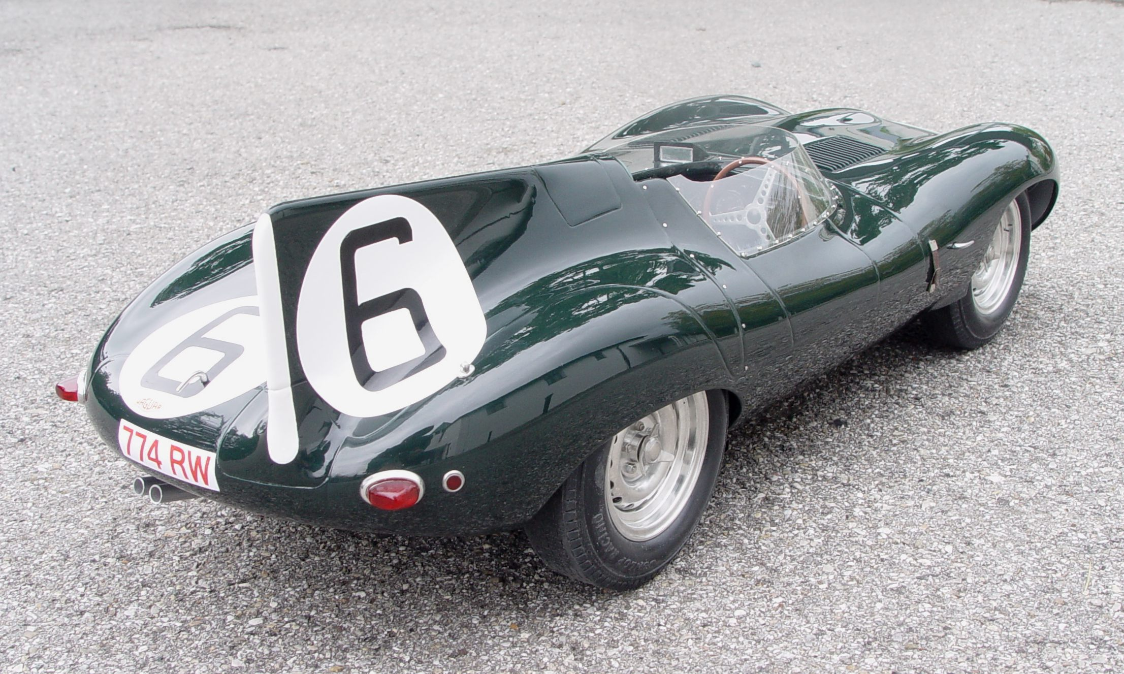 Jaguar D-Type photo 02