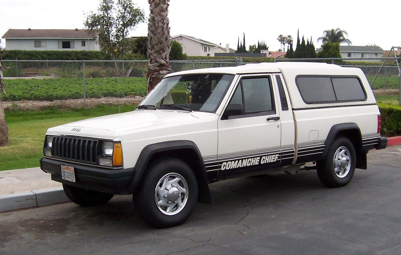Jeep Comanche history, photos on Better Parts LTD