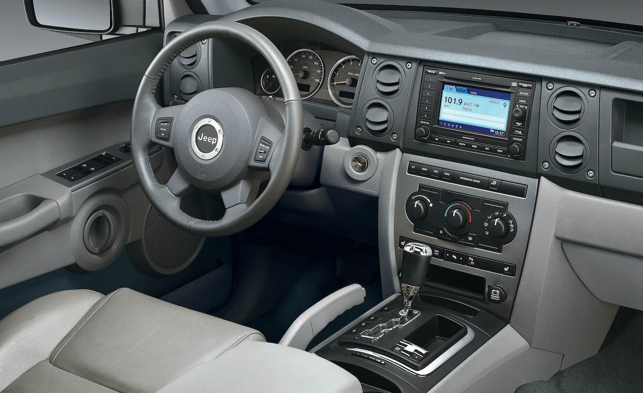2008 Jeep Commander Interior Parts