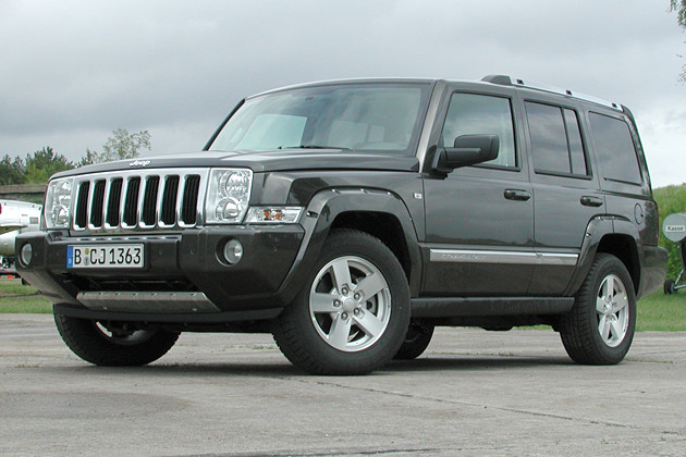 jeep commander 3 0 crd technical details history photos. Black Bedroom Furniture Sets. Home Design Ideas