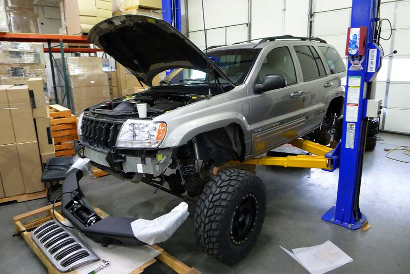 Jeep Grand Cherokee WJ photo 06