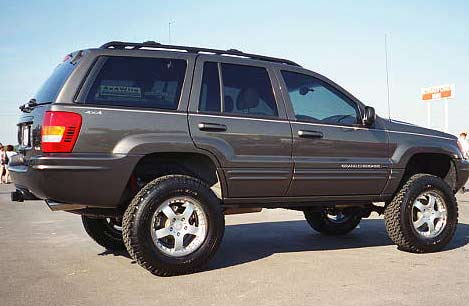 Jeep Grand Cherokee WJ photo 14