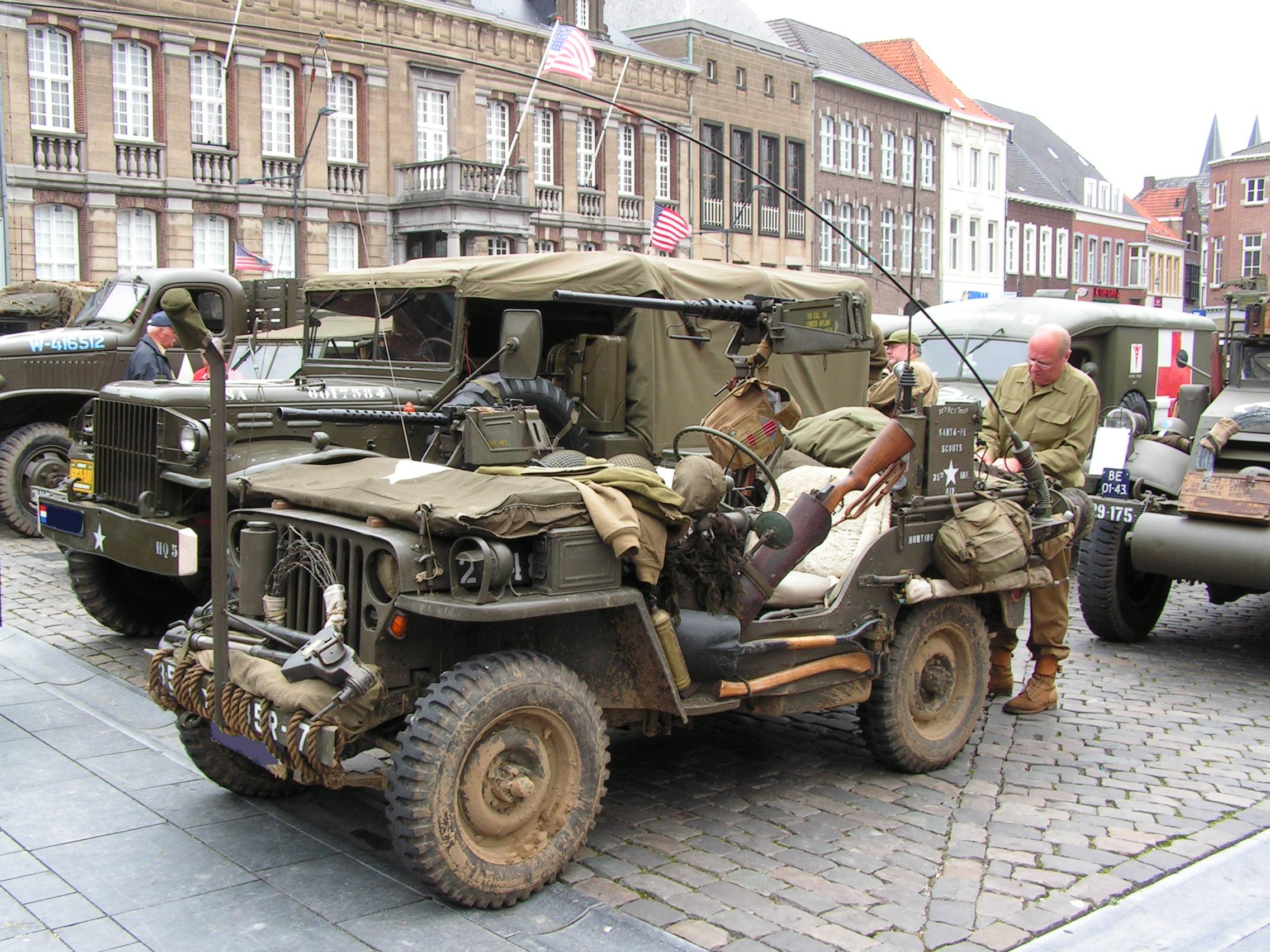 Jeep Willys history, photos on Better Parts LTD