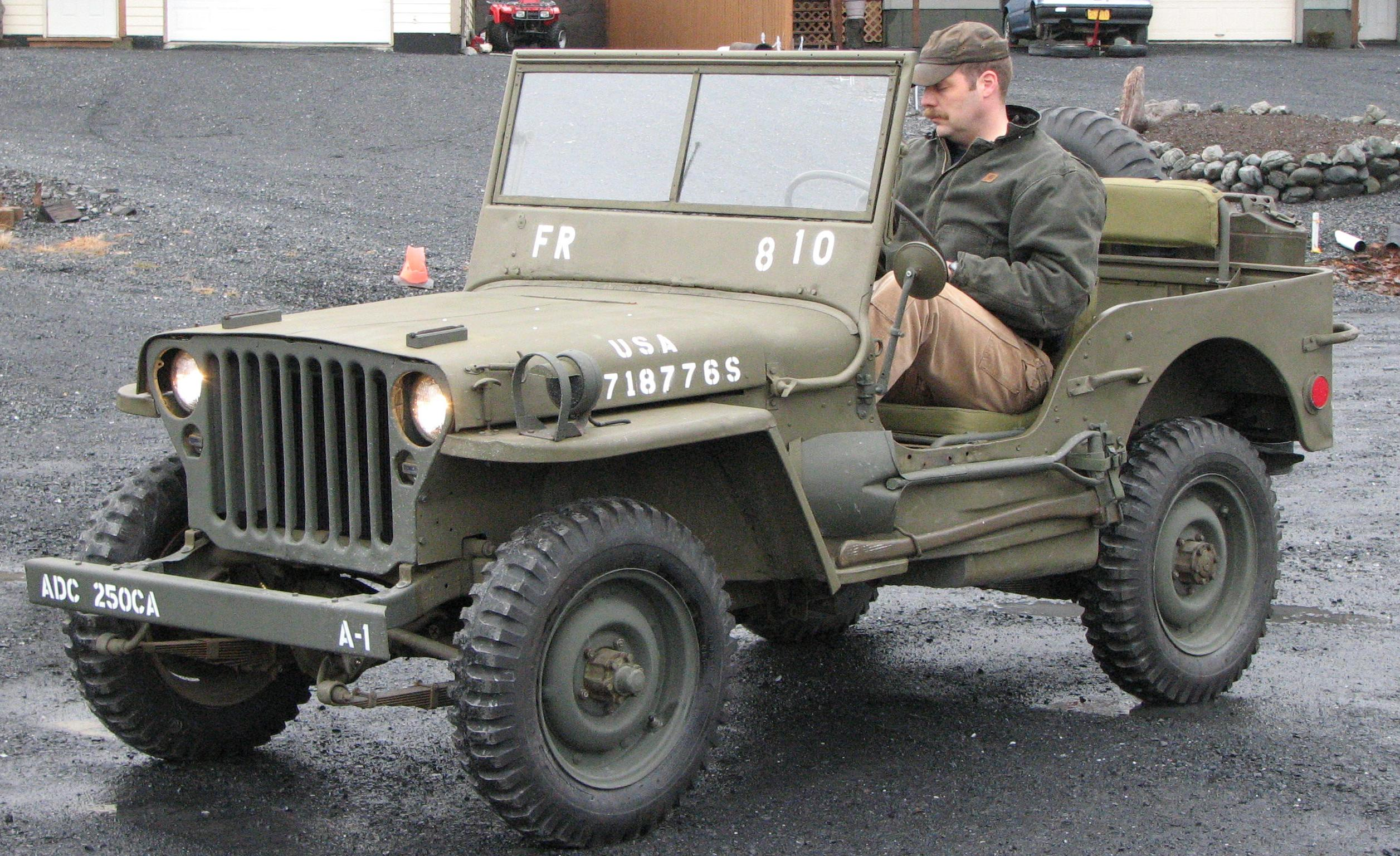 Jeep Willys History Photos On Better Parts Ltd