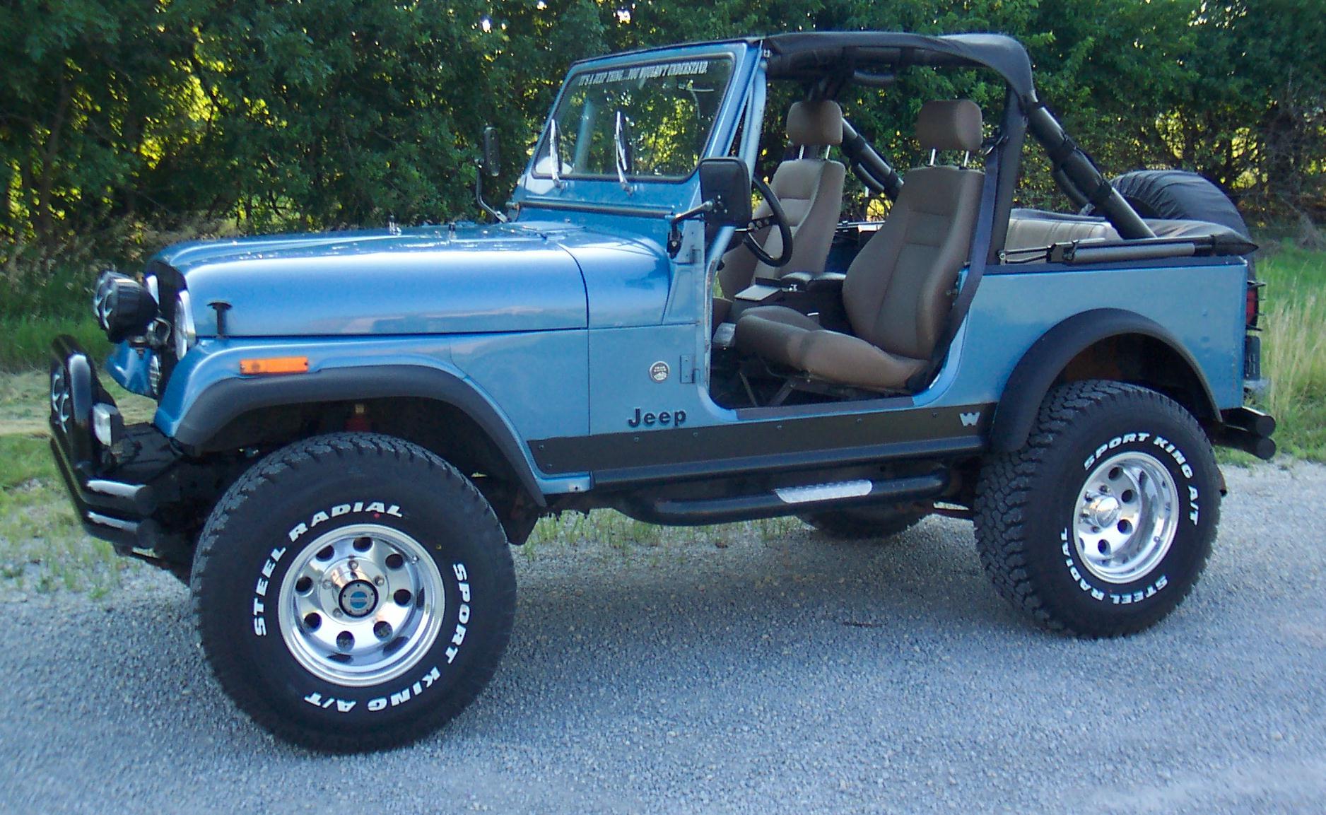 Jeep Cj7 Parts >> Jeep Wrangler CJ-7 technical details, history, photos on Better Parts LTD