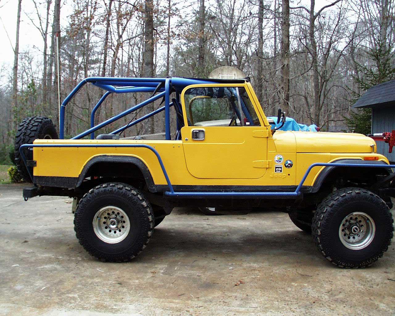 jeep wrangler cj 8 technical details history photos on better parts ltd. Black Bedroom Furniture Sets. Home Design Ideas