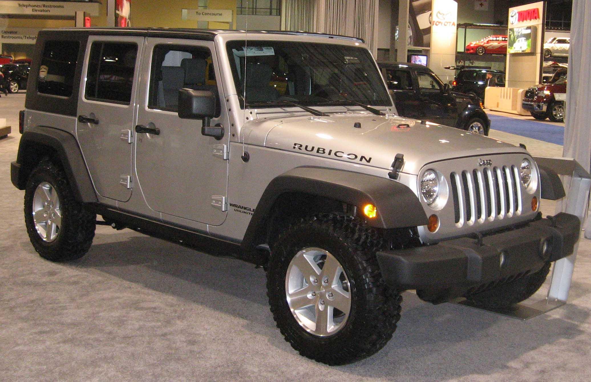 Jeep Wrangler Rubicon Technical Details History Photos