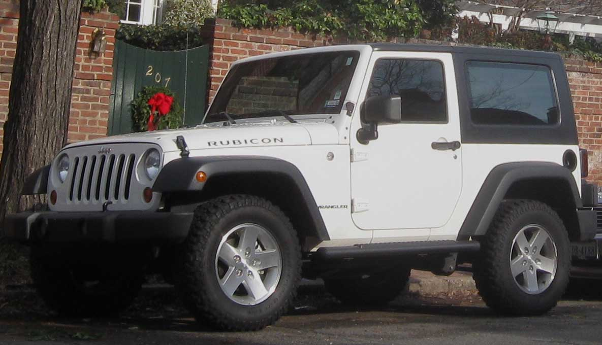 Jeep Wrangler Rubicon technical details history photos on Better