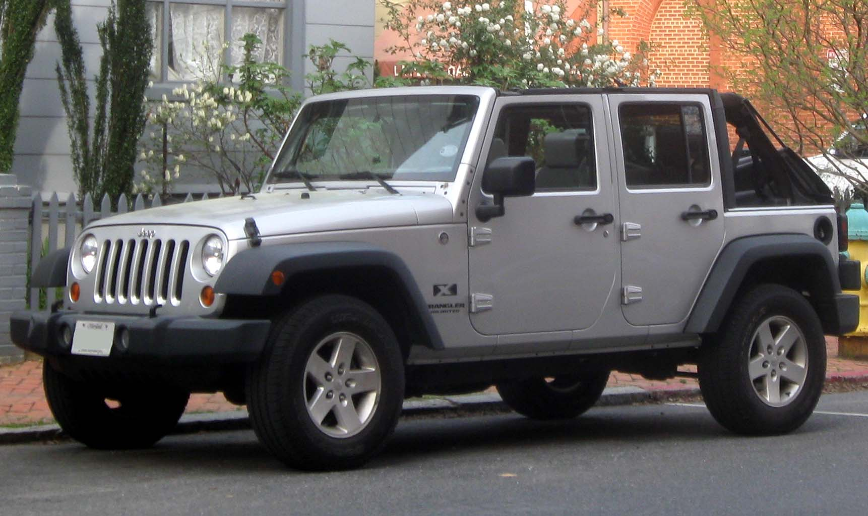 Jeep Wrangler Unlimited Technical Details History Photos
