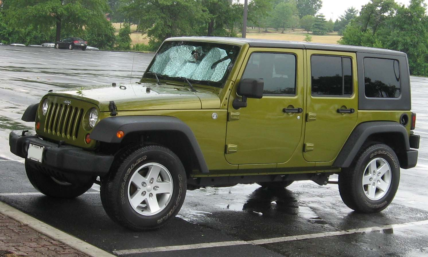 jeep wrangler unlimited technical details history photos. Black Bedroom Furniture Sets. Home Design Ideas