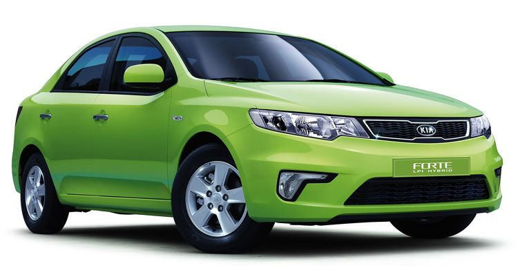 Kia Forte LPI Hybrid photo 05
