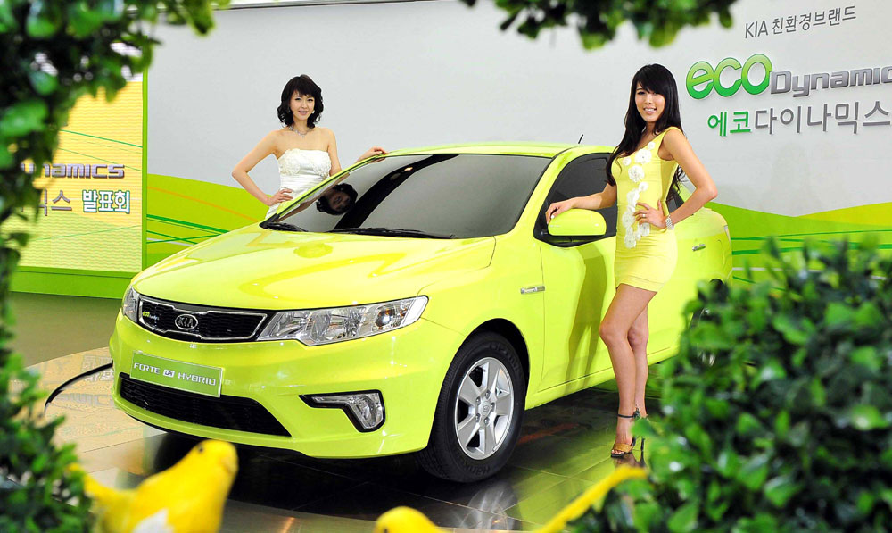 Kia Forte LPI Hybrid photo 08